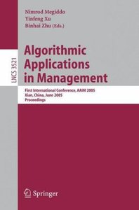 Algorithmic Applications in Management