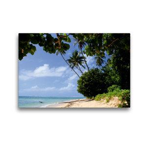 Premium Textil-Leinwand 45 cm x 30 cm quer Lavena auf Taveuni, F