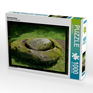 Steinformation 1000 Teile Puzzle quer
