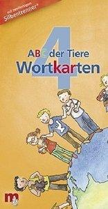 ABC der Tiere 4 / Wortkarten. Klasse 4