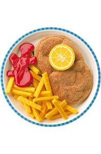 Haba 1474 - Biofino: Wiener Schnitzel mit Pommes frites