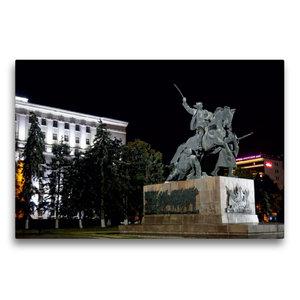 Premium Textil-Leinwand 75 cm x 50 cm quer Denkmal für die Solda
