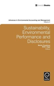 Sustainability, Environmental Performance and Disclosures