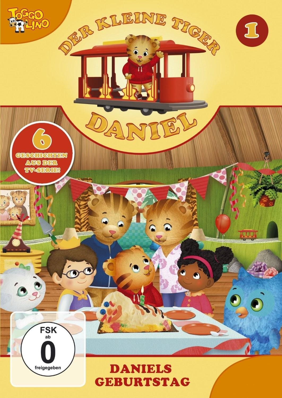 Der kleine Tiger Daniel 01: Daniels Geburtstag - zum Schließen ins Bild klicken