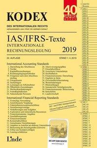 KODEX Internationale Rechnungslegung IAS/IFRS - Texte 2019
