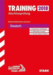 Training Abschlussprüfung Oberschule Sachsen - Deutsch Realschul