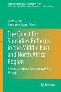The Quest for Subsidies Reforms in the Middle East and North Afr
