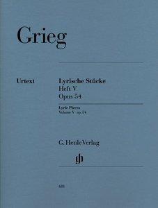 Lyrische Stücke Heft V, op. 54