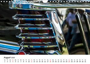 US Cars Chrome & Heckflossen (Wandkalender 2019 DIN A4 quer)