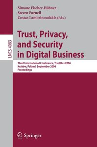 Trust and Privacy in Digital Business