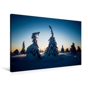 Premium Textil-Leinwand 90 cm x 60 cm quer Karelien in der unter