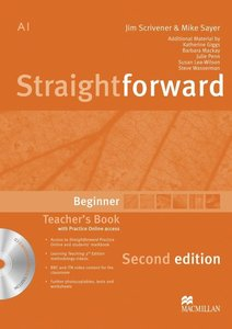 Straightforward Beginner / Teacher's Book with Resource DVD-ROM