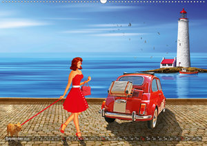 Pin-Up Girls und Oldtimer by Mausopardia