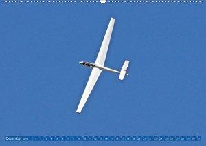 Segelfliegen: Lautlos fliegen mit Segelflugzeugen (Wandkalender