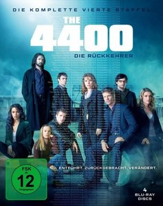 4400 - Die Rückkehrer. Staffel.4, 4 Blu-ray