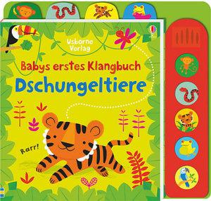 Babys erstes Klangbuch: Dschungeltiere