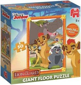 Jumbo Bodenpuzzle Lion Guard 50 Teile,