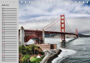 Kalifornien. Die goldene Westküste (Tischkalender 2019 DIN A5 qu