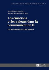 Les émotions et les valeurs dans la communication 2