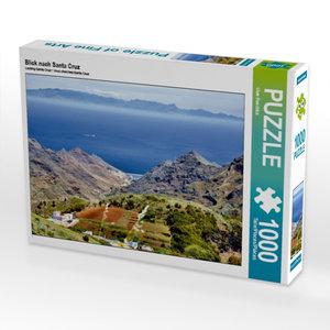Blick nach Santa Cruz 1000 Teile Puzzle quer