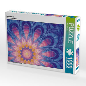 heart space 1000 Teile Puzzle quer