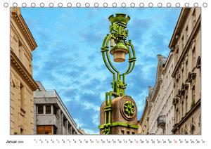 Laternen im Design der Wiener Moderne (Tischkalender 2020 DIN A5