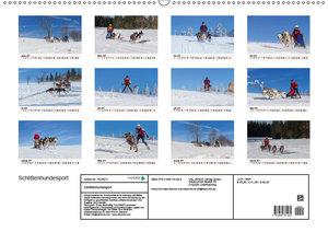 Schlittenhundesport (Wandkalender 2019 DIN A2 quer)