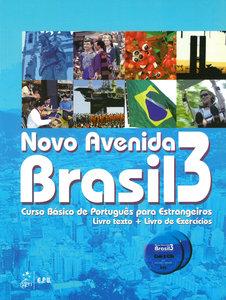 Novo Avenida Brasil B1. Kurs- und Übungsbuch + Audio-CD