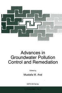 Advances in Groundwater Pollution Control and Remediation