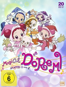 Magical Doremi - Gesamtedition Staffel 1 + 2: Episode 01-100
