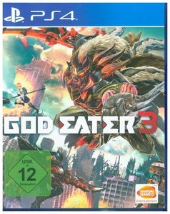 God Eater 3, 1 PS4-Blu-ray Disc