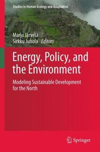 Energy, Policy, and the Environment