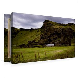 Premium Textil-Leinwand 75 cm x 50 cm quer Island