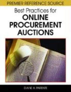 Best Practices for Online Procurement Auctions