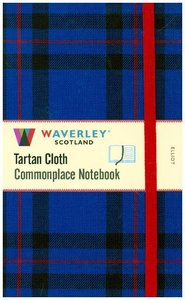 Waverley Scotland Large Tartan Cloth Commonplace Notebook - Elli