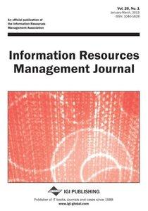 Information Resources Management Journal, Vol 26 ISS 1
