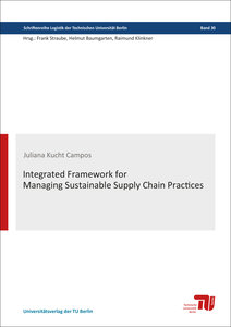 Integrated framework for managing sustainable supply chain pract