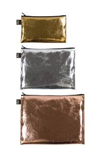 Zip Pockets METALLIC