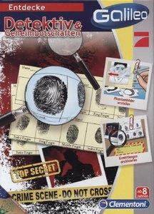 Clementoni Galileo Detektiv & Geheimbotschaften