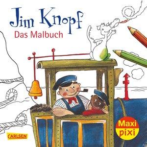 Maxi-Pixi Nr. 269: VE 5 Jim Knopf Malbuch