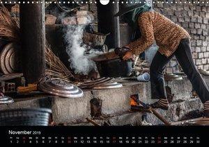 Märkte Kambodschas (Wandkalender 2019 DIN A3 quer)