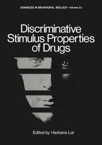 Discriminative Stimulus Properties of Drugs