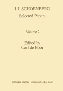 I. J. Schoenberg Selected Papers