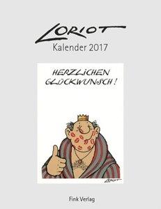 Loriot 2017. Kunstkarten-Einsteckkalender
