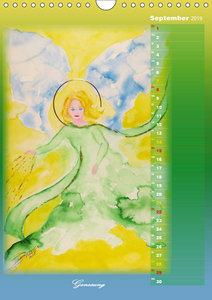 Engelhafte Lichtbegleiter (Wandkalender 2019 DIN A4 hoch)
