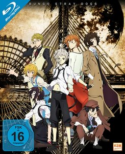 Bungo Stray Dogs - Gesamtedition. Staffel.1, 3 Blu-ray