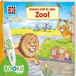 BOOKii® WAS IST WAS Kindergarten Komm mit in den Zoo