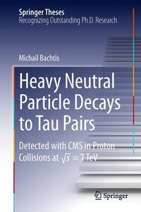 Heavy Neutral Particle Decays to Tau Pairs