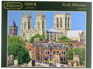 Falcon - York Minster. Puzzle 1000 Teile