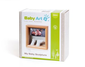 Baby Art My Baby Sculpture -Photo Sculpture Frame honey